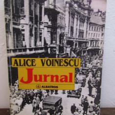 JURNAL -ALICE VOINESCU - Biografie