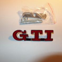 Logo emblema grila GTI metalica Volkswagen VW Golf - Embleme auto