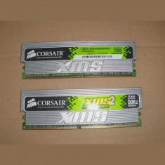 Kit RAM 2 X 1GB Corsair XMS2 Pro Series CM2X1024-6400C4PRO 800MHz DDR2 Desktop - Memorie RAM