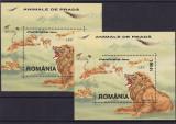 ROMANIA 2000   LP 1533   ANIMALE  DE PRADA  2  COLITE  MNH, Nestampilat