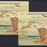 ROMANIA 2000, LP 1533, ANIMALE DE PRADA 2 COLITE MNH - Timbre Romania, Nestampilat