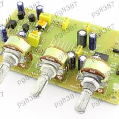 Preamplificator stereo cu corector de ton - 130228 - Amplificator audio