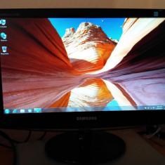 Monitor LCD Samsung 18.5'', Wide, Negru Lucios, B1930N, 19 inch, VGA (D-SUB), IPS