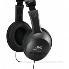 Casti JVC HA-G101 Black, Casti On Ear, Cu fir, Mufa 3, 5mm