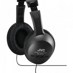 Casti JVC HA-G101 Black, Casti On Ear, Cu fir, Mufa 3, 5mm