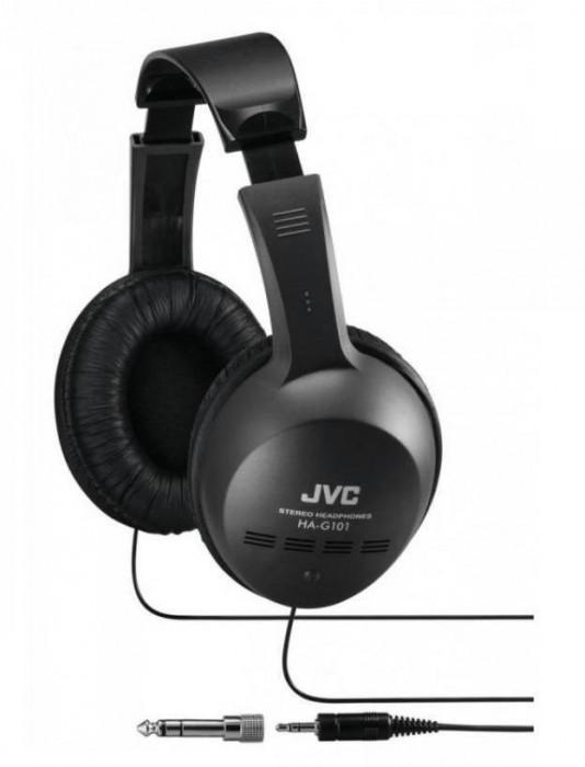 Casti JVC HA-G101 Black foto mare