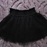 Fusta din tul neagra Takko mar.122-128 (6-8 ani), Marime: Alta, Culoare: Negru