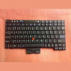 Tastatura laptop noua THINKPAD X60 Black RENEW