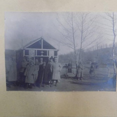 Al. Vlahuta, In Valea Goldului 25 Februarie 1918, fotografie originala - Harta Europei