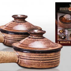 Stone Cooker - oala de gatit din ceramica pentru cuptor - oala, cratita