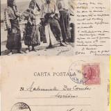 Tigani - ed. Socec- clasica, rara - Carte Postala Muntenia pana la 1904, Circulata, Printata