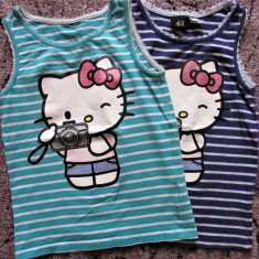 Set maieuri Hello Kitty H&M mar.122-128 (6-8 ani), Marime: Alta, Culoare: Din imagine