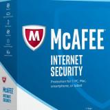 McAfee Internet Security 2017 -(LICENTA-1 An-3 PC-uri) - Antivirus McAfee, DVD, peste 10