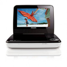 DVD Player portabil Philips PD7030 LCD 7 inch USB White