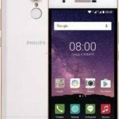 X586 Dual SIM (Fingerprint) 16GB LTE Champagne White Philips