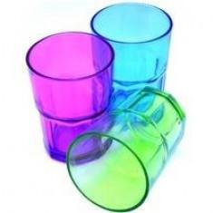 Set pahare Perfect Home 12005, 3 buc. 3 culori diferite, 300 ml