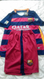 Echipament fotbal F.C.Barcelona,Marime M,Nou-Original.