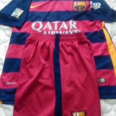 Echipament fotbal F.C.Barcelona, Marime M, Nou-Original.