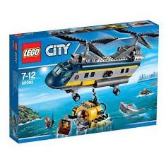 LEGO 60093 City Deep Sea Helicopter Elicopter cu Submarin scafandru NOU SIGILAT