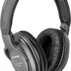 Casti Panasonic cu banda RP-HT265E-K Black, Casti Over Ear, Cu fir, Mufa 3, 5mm