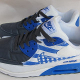 Adidasi Nike -Air Max - albastru cu alb - 39-24, 5 cm - Adidasi barbati, Culoare: Din imagine