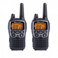 Statie radio PMR/LPD portabila Midland XT70 set cu 2 buc. gri metalic cod C1180
