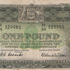 Australia 1 Pound 1961 Rar in Romania