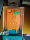 Husa iphone 5/5c/5s, iPhone 5C, Portocaliu, Gel TPU