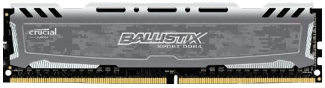Memorie Crucial Ballistix Sport LT , UDIMM, 4 GB DDR4, 2400 MHz, CL 16, 1.2V foto mare