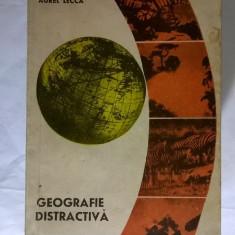 Aurel Lecca – Geografie distractiva - Carte Geografie