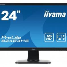 Monitor LED Iiyama Prolite B2483HS-B1, 24 inch, 1920 x 1080 Full HD, boxe
