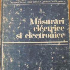 Masurari Electrice Si Electronice - C. Iliescu Si Colab., 396744 - Carti Electrotehnica