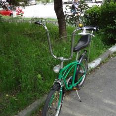 Pegas Kent verde KAWASAKY reconditionat - Bicicleta retro, 20 inch, Numar viteze: 3