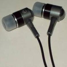 Casti A4Tech MK-650-B, A4TECH, EARPHONE, in ear, 3, 5 mm, negru, Casti In Ear, Cu fir, Mufa 3, 5mm