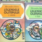 Legendele Olimpului zeii + eroii an 1993/560pag- Al.Mitru - Carte mitologie