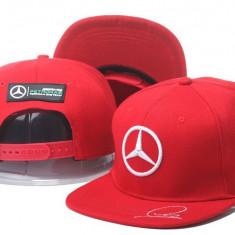 Sapca Mercedes Benz - F1 Racing 2017 ( tip Audi, volvo, BMW ) culoare ROSU - Sapca Barbati Adidas, Marime: Marime universala