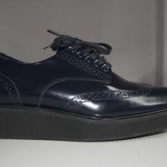 Pantofi Massimo Dutti, marimea 38 - Pantof dama, Culoare: Bleumarin