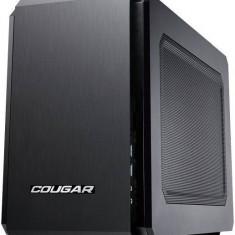 Carcasa Cougar QBX, Mini Tower, neagra, fara sursa - Carcasa PC