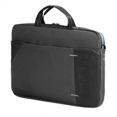SUMDEX Continent CC-205, Geanta laptop, 15.6 inch, albastra, Nailon, Albastru