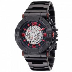 Ceas original Detomaso Machineer Automatic Black/Red - Ceas barbatesc Detomaso, Mecanic-Automatic