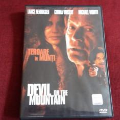 FILM DVD TEROARE IN MUNTI, Romana