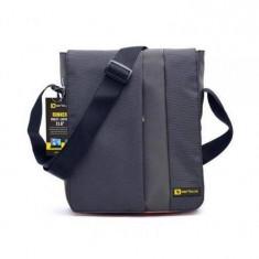 Serioux Geanta notebook Runner FDP2178, 11.6 inch, neagra - Geanta laptop Serioux, Nailon, Negru