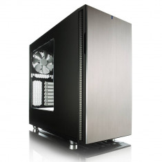 Carcasa Fractal Design Define R5 Window, Middle Tower, gri, fara sursa - Carcasa PC