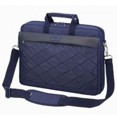 SUMDEX Passage PON-327, Geanta laptop, 15.6 inch, albastra, Nailon, Albastru