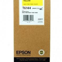 Epson Toner inkjet Epson T6144 Galben, 220ml