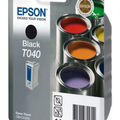 Epson Toner inkjet negru Epson T040 pentru Stylus C62/CX3200 - Cerneala imprimanta