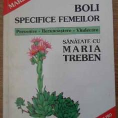 Boli Specifice Femeilor - Maria Treben, 396703 - Carte Medicina alternativa