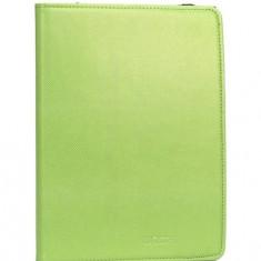 UTOK Husa piele eco UTOK 7110V pentru tablete 7-8 inch, verde - Husa Tableta