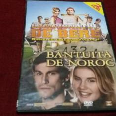 FILM DVDCAMPIONATUL DE BERE /  BANTUITA DE NOROC 2 FILME, DVD, Romana