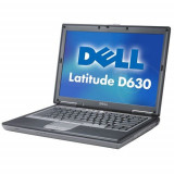 Laptop second hand Dell Latitude D630 Intel Core 2 Duo T7250 2.0GHz 2GB DDR2 80GB HDD DVD 14.1inch Port serial - Laptop Dell